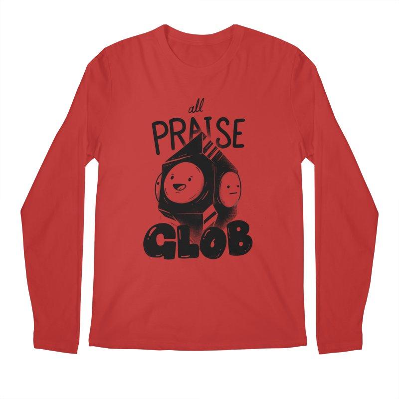 Praise Glob Men's Longsleeve T-Shirt by Arkady's print shop