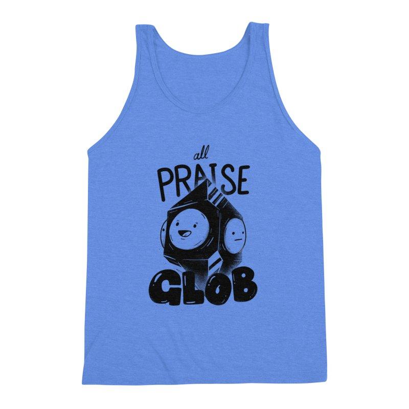 Praise Glob Men's Tank by Arkady's print shop