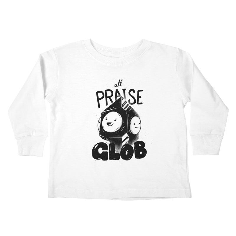 Praise Glob Kids Toddler Longsleeve T-Shirt by Arkady's print shop