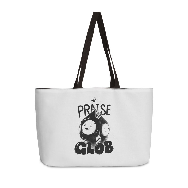 Praise Glob Accessories Weekender Bag Bag by Arkady's print shop