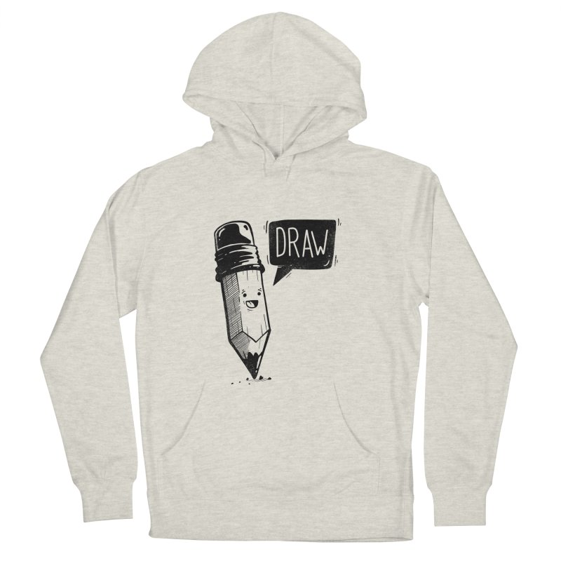 Draw Men's Pullover Hoody by Arkady's print shop