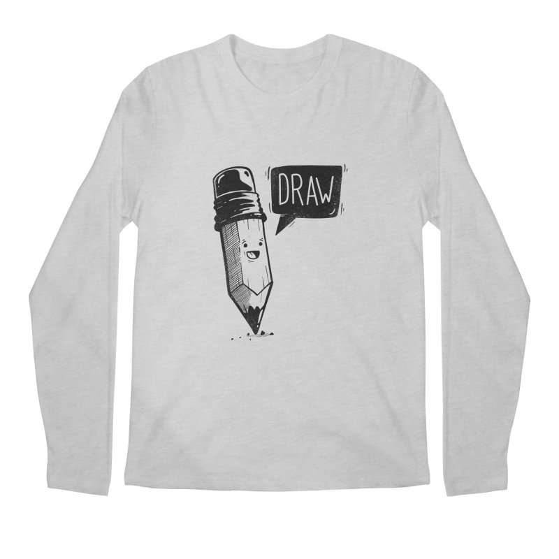 Draw Men's Longsleeve T-Shirt by Arkady's print shop