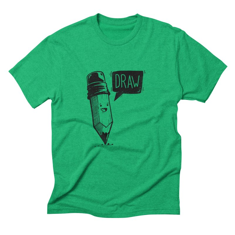Draw Men's T-Shirt by Arkady's print shop