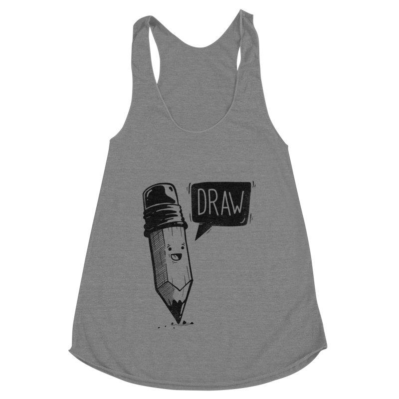Draw Women's Tank by Arkady's print shop