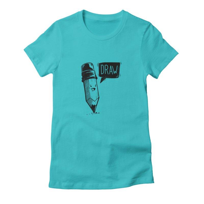 Draw Women's T-Shirt by Arkady's print shop
