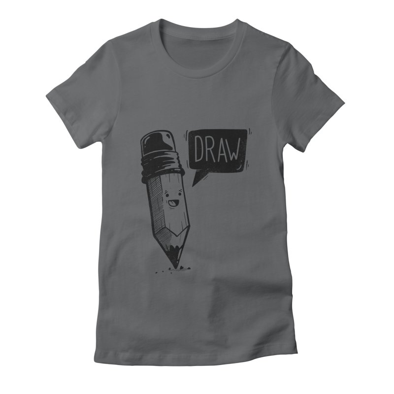 Draw Women's T-Shirt by Arkady's print shop
