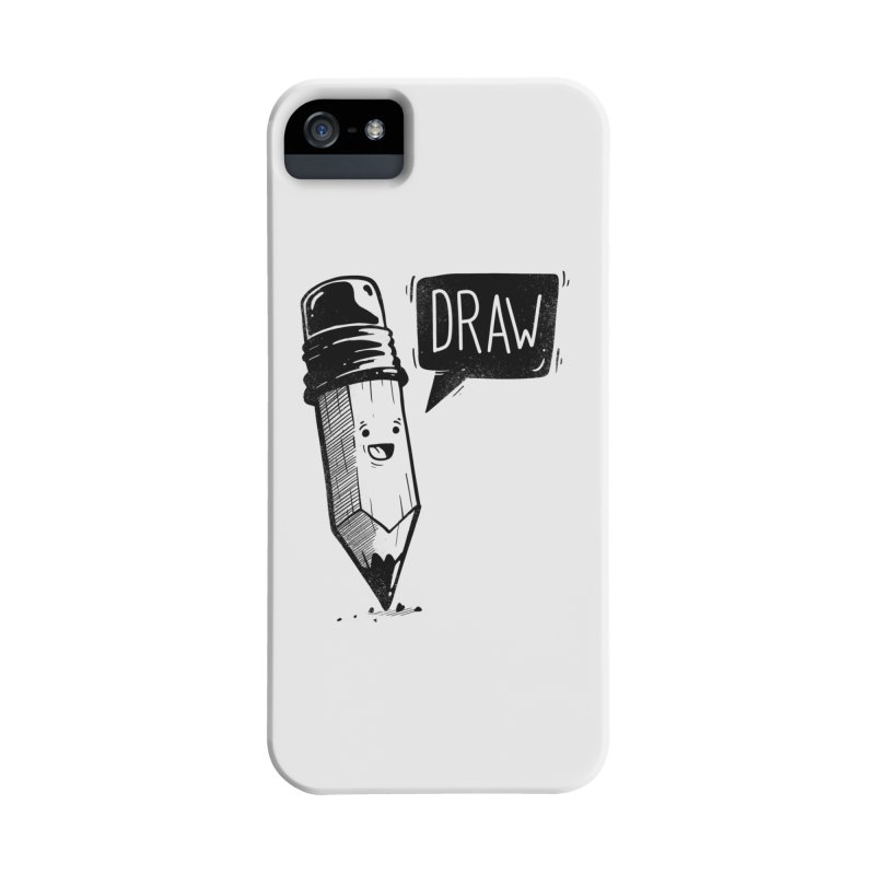 Draw Accessories Phone Case by Arkady's print shop