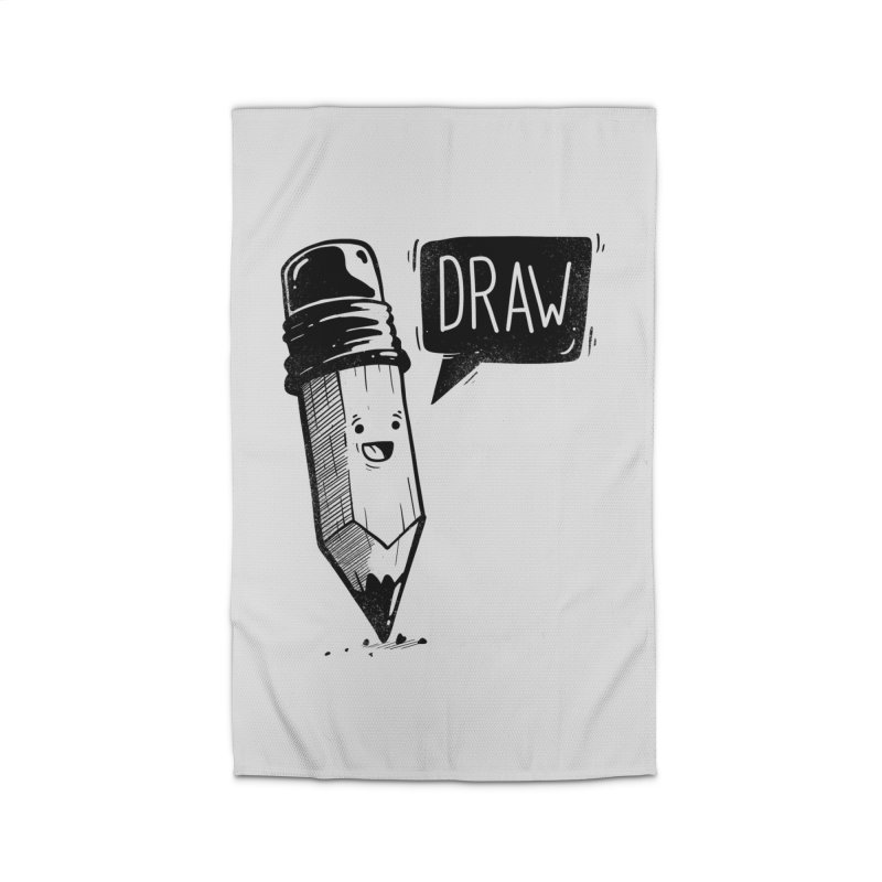 Draw Home Rug by Arkady's print shop