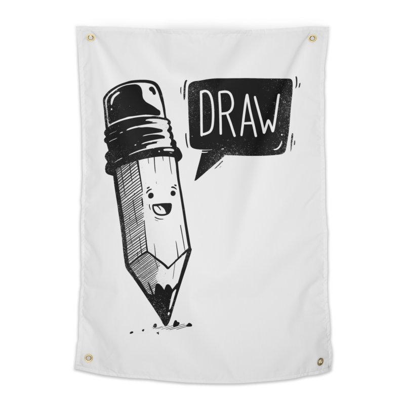Draw Home Tapestry by Arkady's print shop