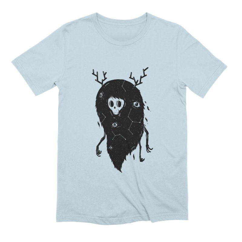 Spooky #1 Men's Extra Soft T-Shirt by Arkady's print shop