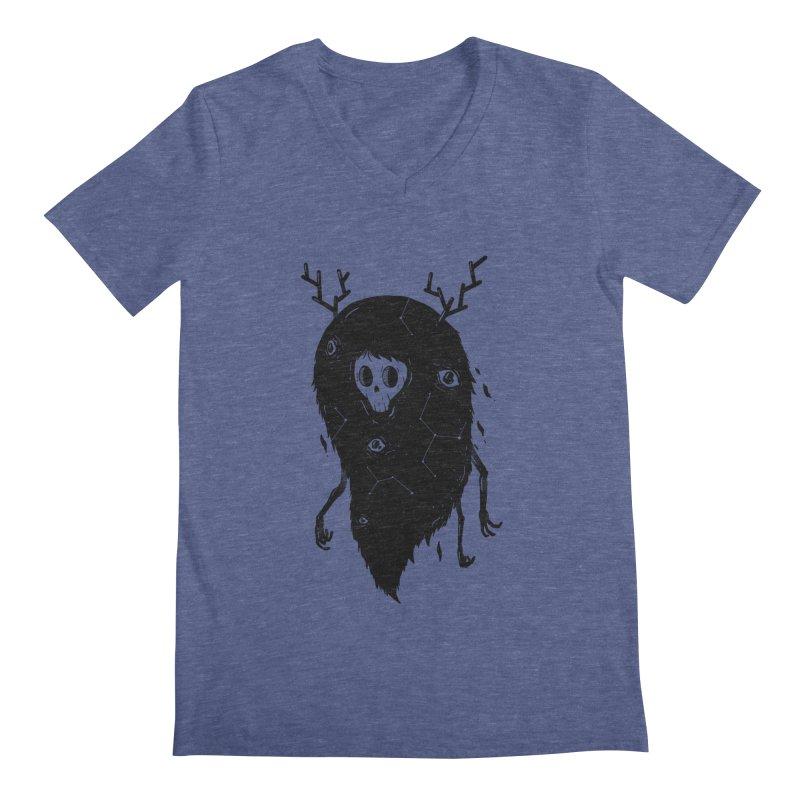 Spooky #1 Men's V-Neck by Arkady's print shop