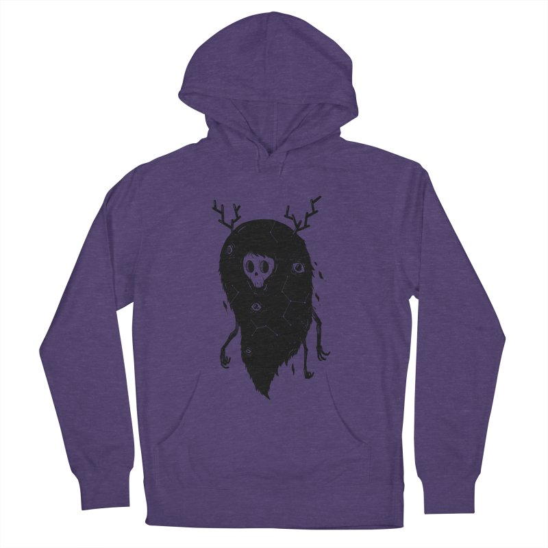 Spooky #1 Women's French Terry Pullover Hoody by Arkady's print shop