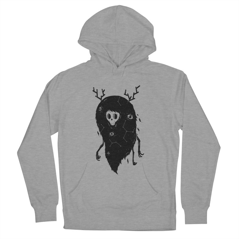 Spooky #1 Men's French Terry Pullover Hoody by Arkady's print shop