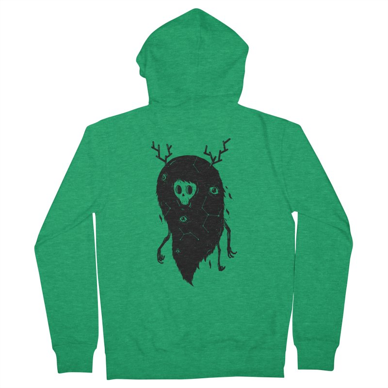 Spooky #1 Women's Zip-Up Hoody by Arkady's print shop