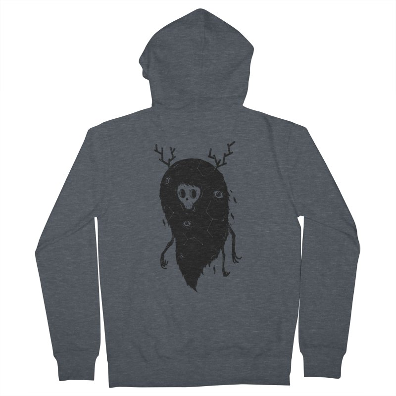 Spooky #1 Women's French Terry Zip-Up Hoody by Arkady's print shop
