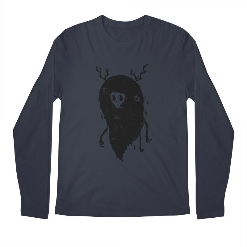Spooky #1 Men's Regular Longsleeve T-Shirt by Arkady's print shop