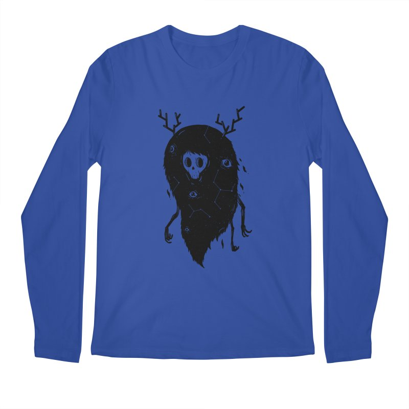 Spooky #1 Men's Regular Longsleeve T-Shirt by Arkady's print shop