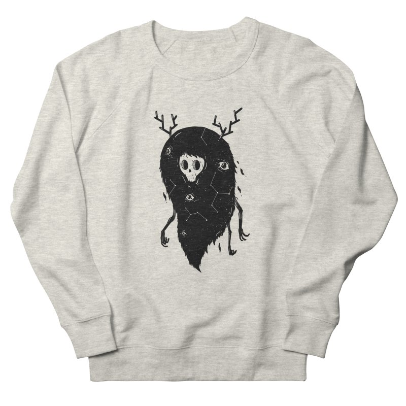 Spooky #1 Men's French Terry Sweatshirt by Arkady's print shop