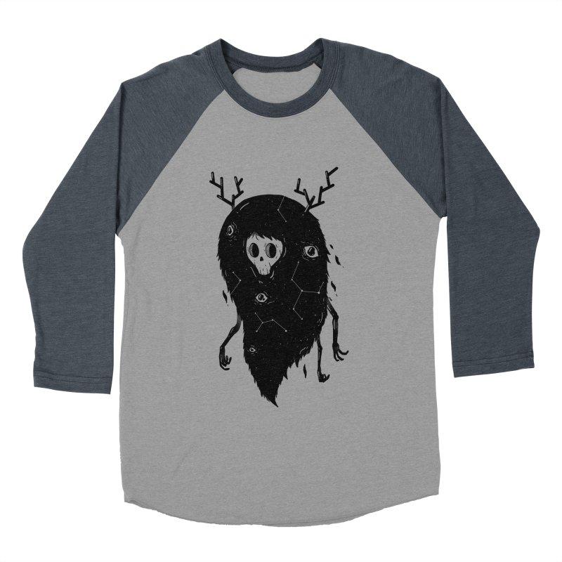 Spooky #1 Men's Baseball Triblend Longsleeve T-Shirt by Arkady's print shop