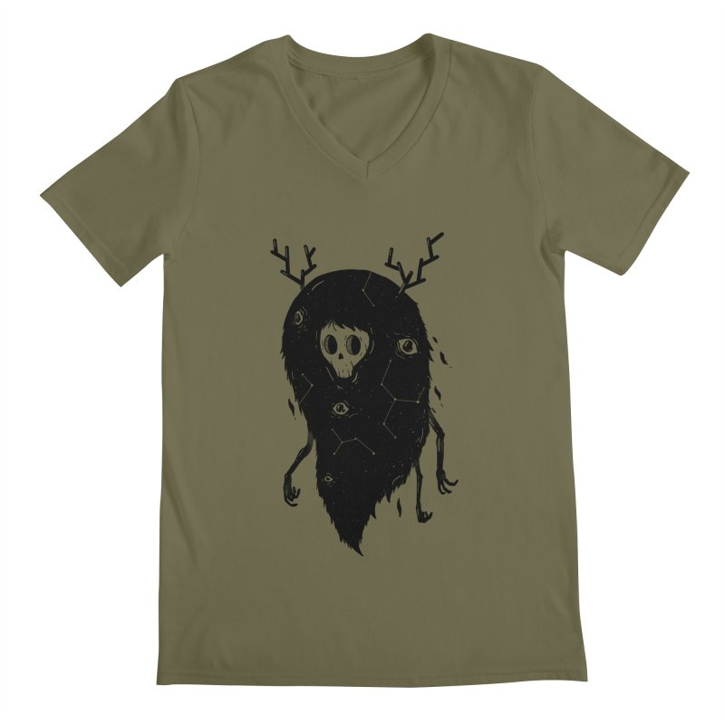 Spooky #1 Men's V-Neck by Arkady's print shop