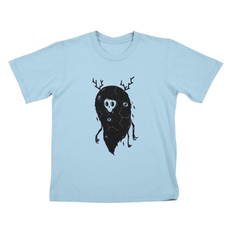 Spooky #1 Kids T-Shirt by Arkady's print shop