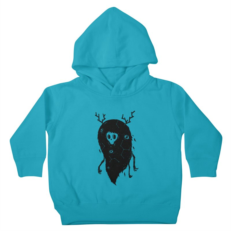 Spooky #1 Kids Toddler Pullover Hoody by Arkady's print shop