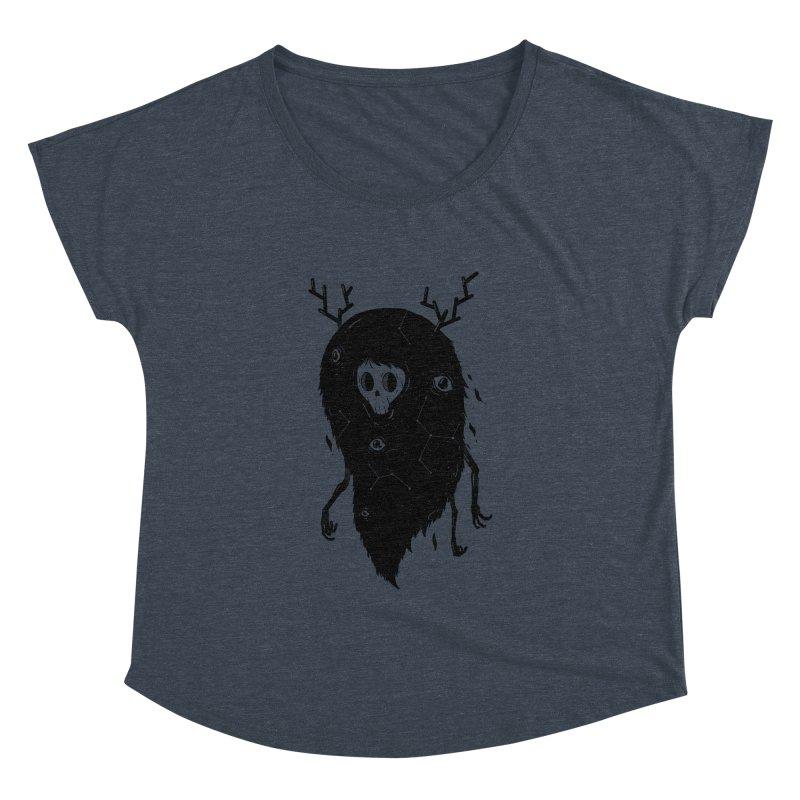 Spooky #1 Women's Dolman Scoop Neck by Arkady's print shop