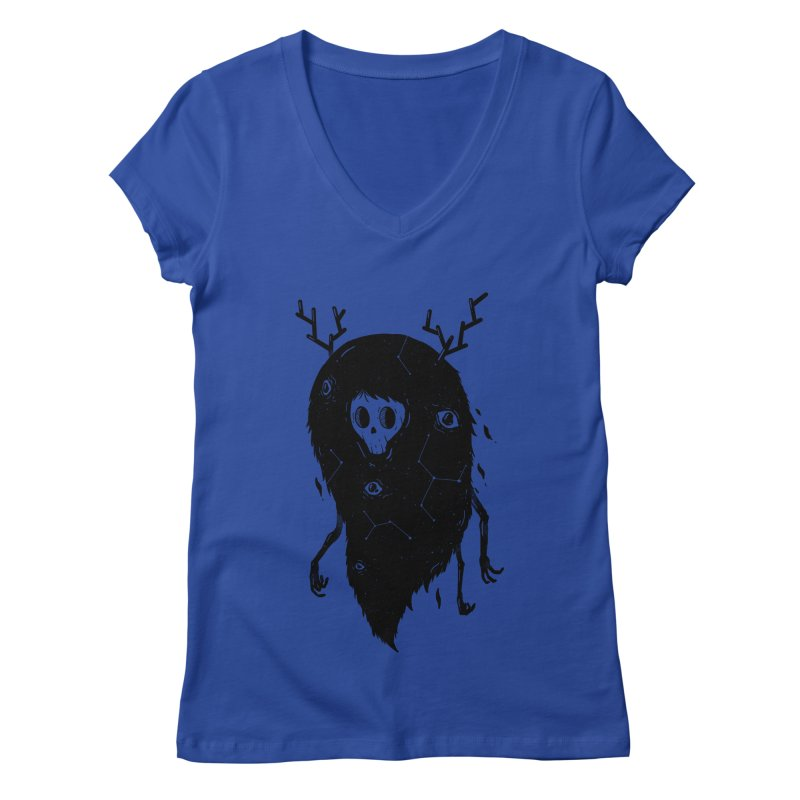 Spooky #1 Women's Regular V-Neck by Arkady's print shop