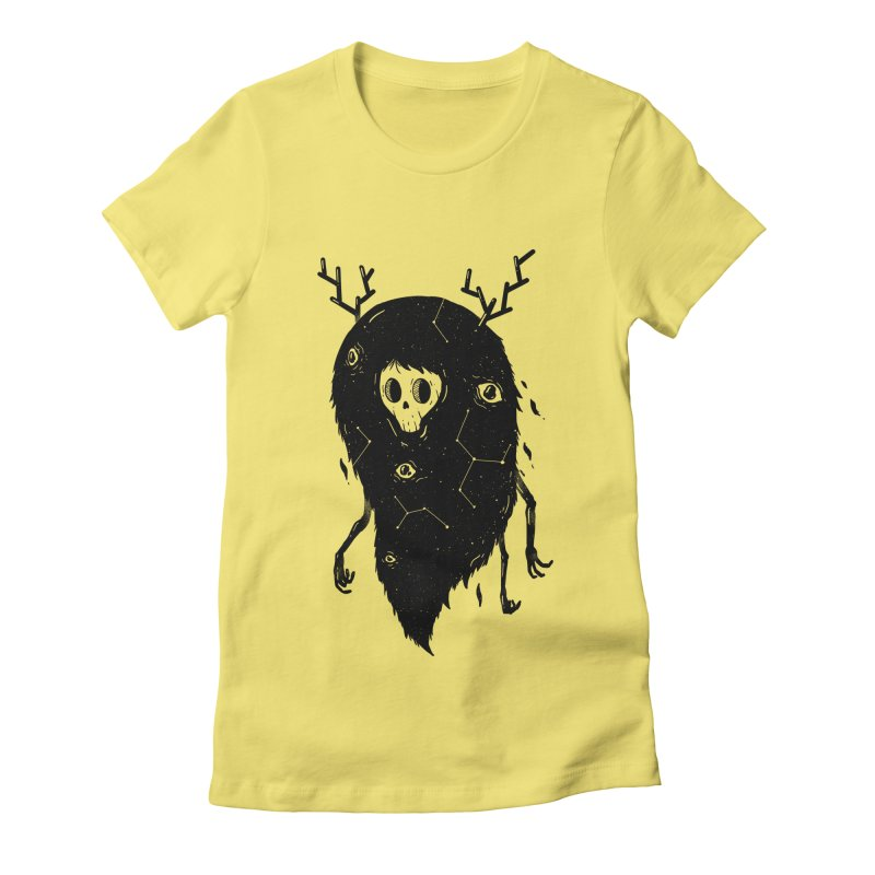 Spooky #1 Women's Fitted T-Shirt by Arkady's print shop