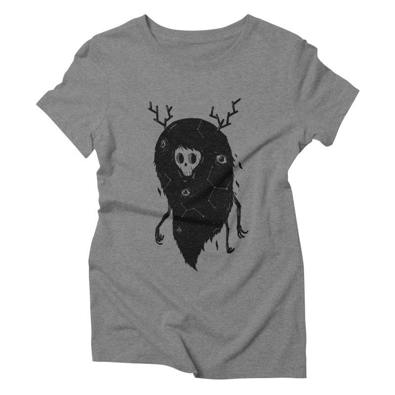 Spooky #1 Women's Triblend T-Shirt by Arkady's print shop