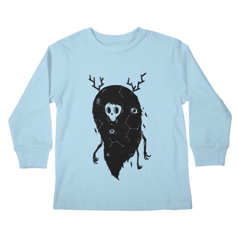 Spooky #1 Kids Longsleeve T-Shirt by Arkady's print shop