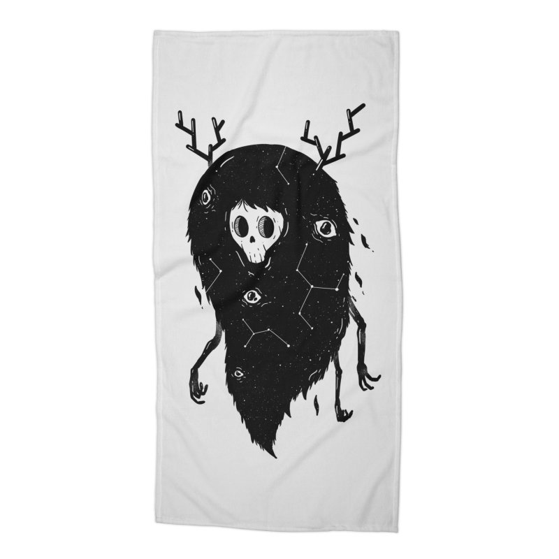 Spooky #1 Accessories Beach Towel by Arkady's print shop