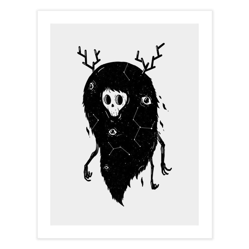 Spooky #1 Home Fine Art Print by Arkady's print shop