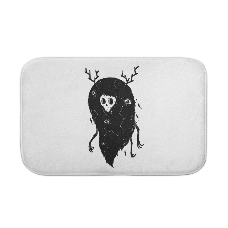 Spooky #1 Home Bath Mat by Arkady's print shop