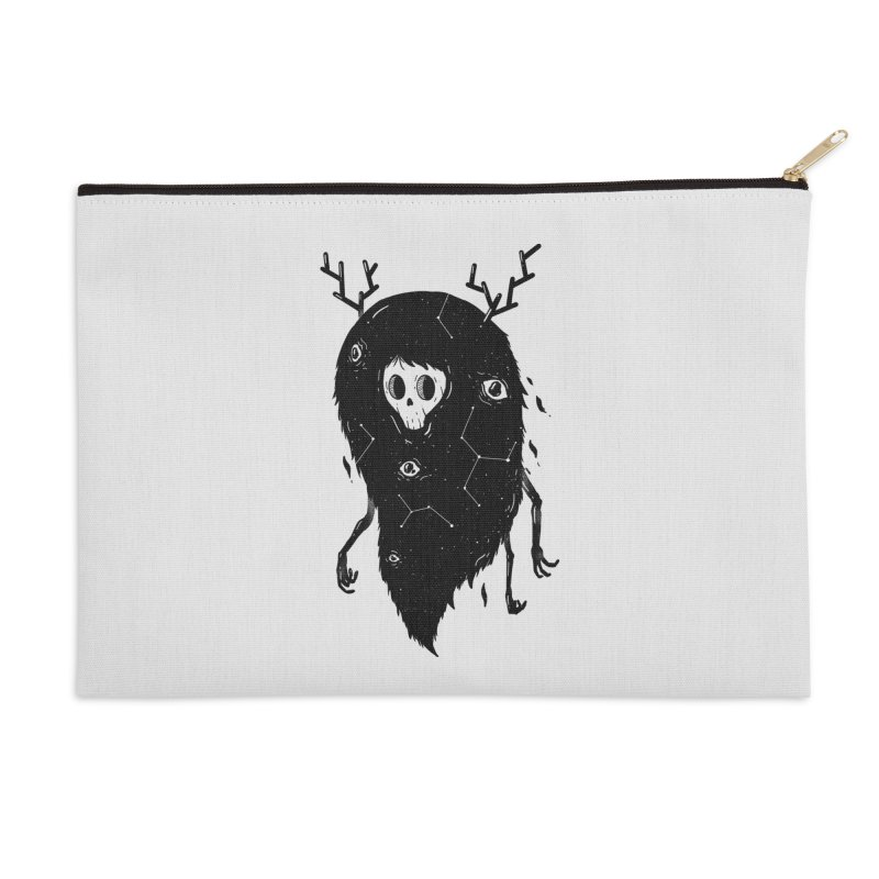 Spooky #1 Accessories Zip Pouch by Arkady's print shop