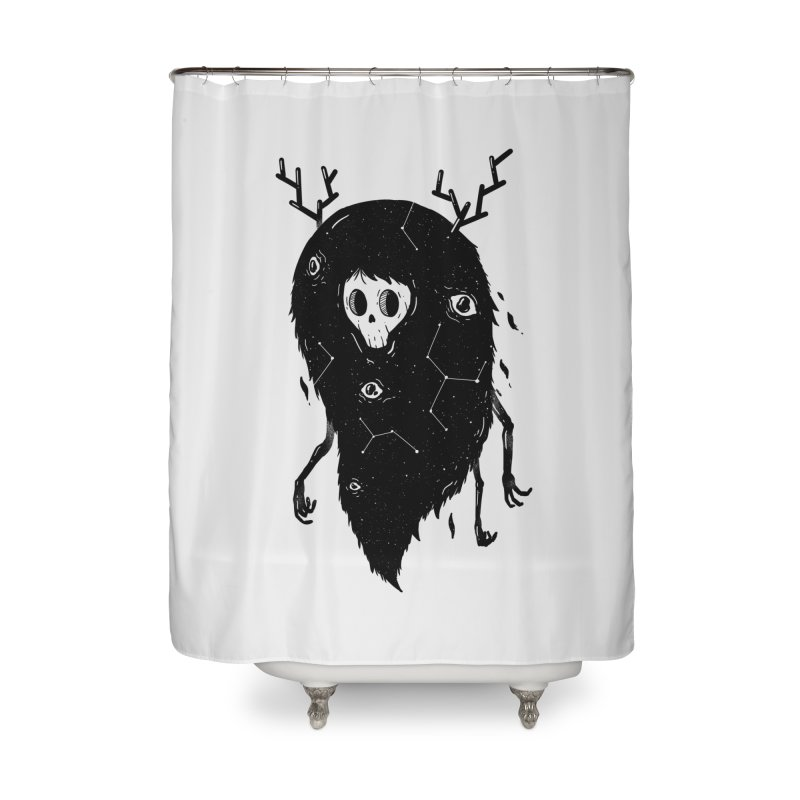 Spooky #1 Home Shower Curtain by Arkady's print shop