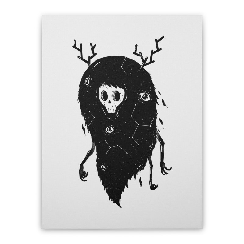 Spooky #1 Home Stretched Canvas by Arkady's print shop