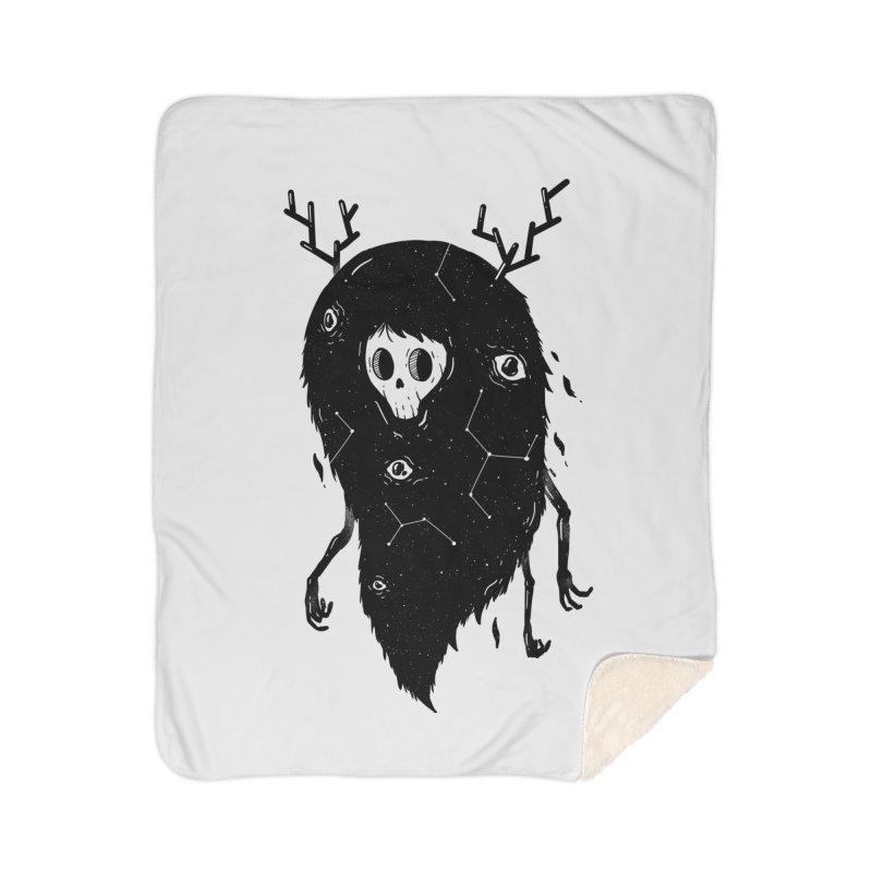 Spooky #1 Home Sherpa Blanket Blanket by Arkady's print shop