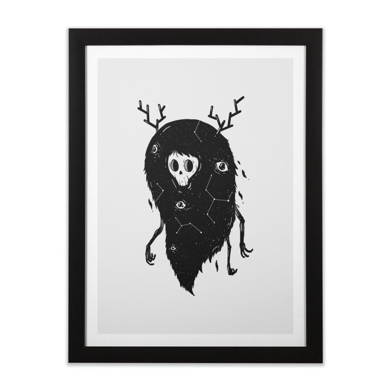 Spooky #1 Home Framed Fine Art Print by Arkady's print shop