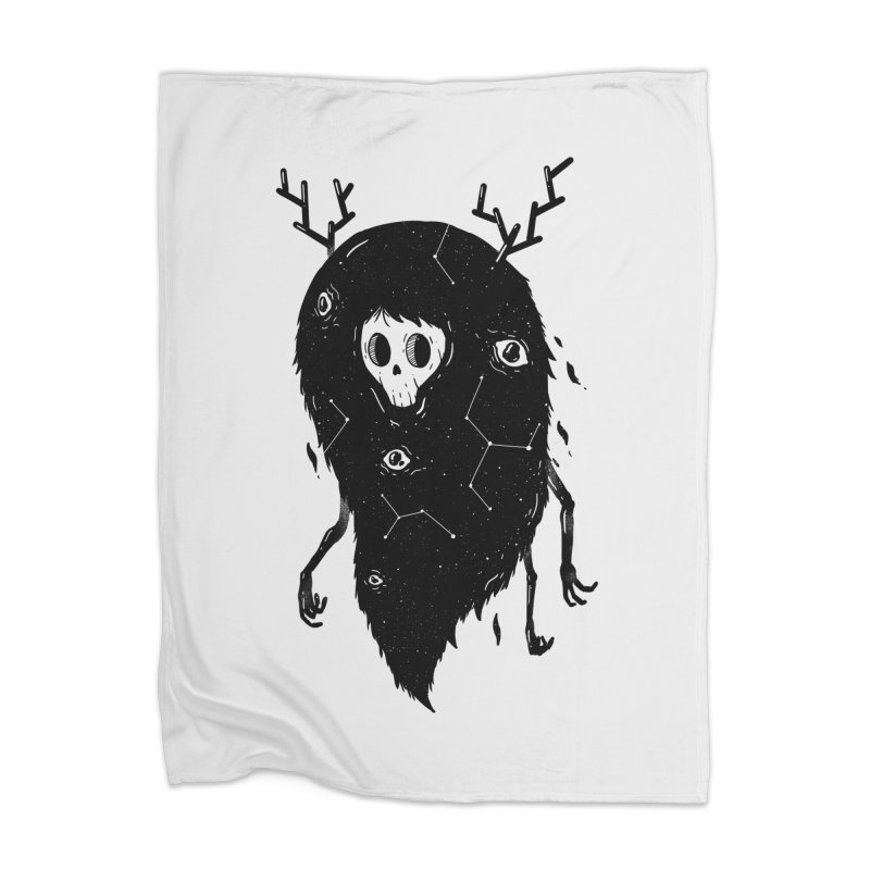 Spooky #1 Home Blanket by Arkady's print shop