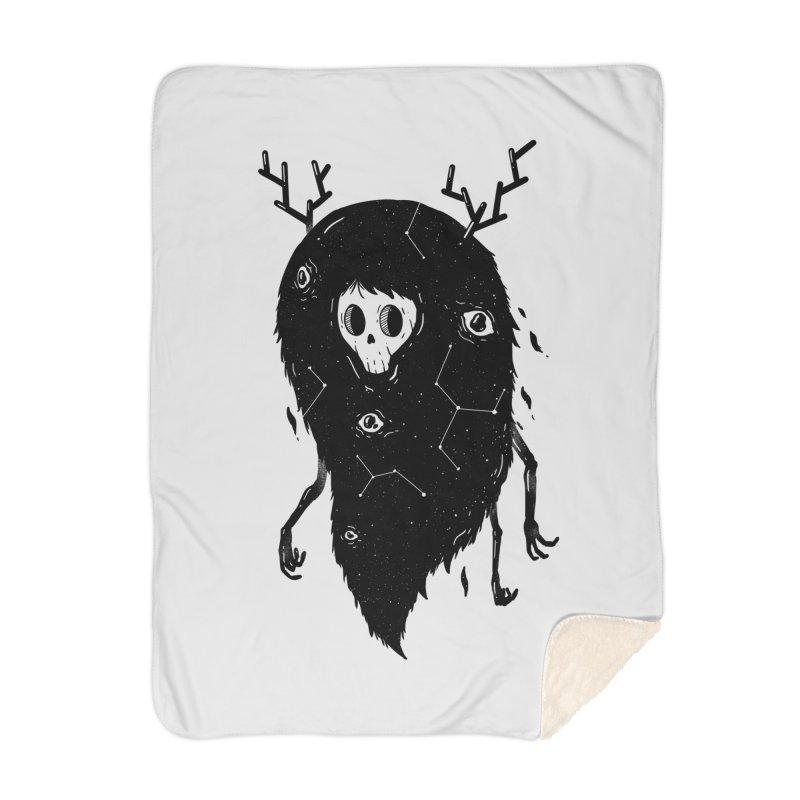 Spooky #1 Home Blanket by Arkady's print shop