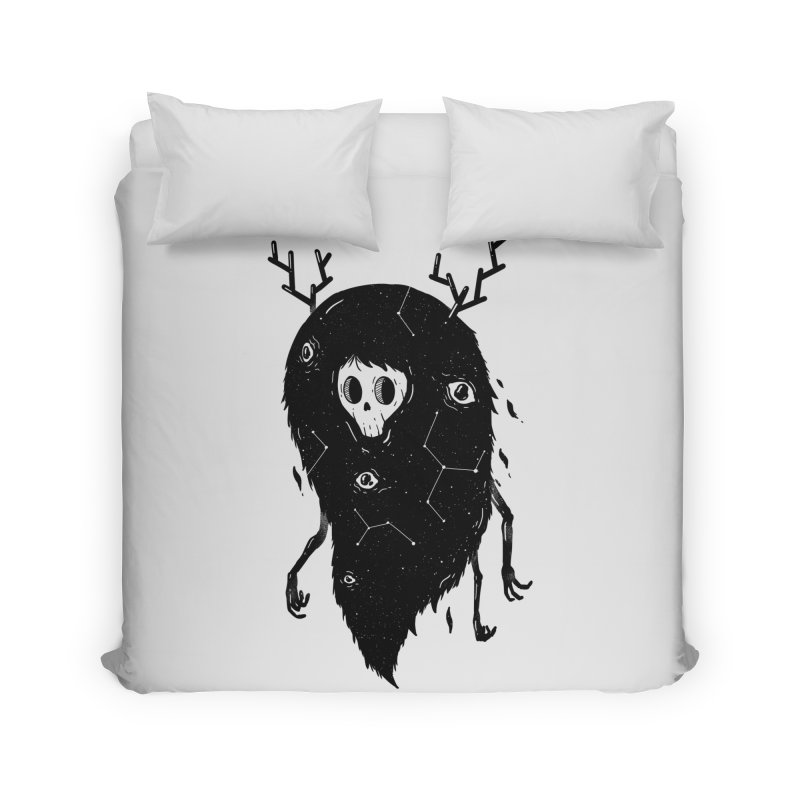 Spooky #1 Home Duvet by Arkady's print shop