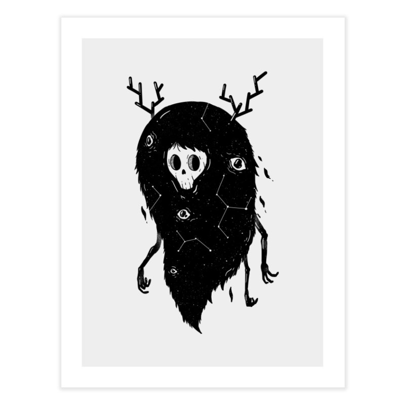 Spooky #1 Home Fine Art Print by Arkady's print shop