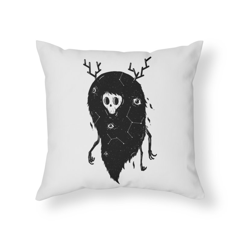 Spooky #1 Home Throw Pillow by Arkady's print shop