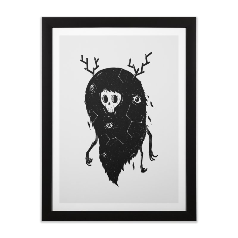 Spooky #1 Home Framed Fine Art Print by Arkady's print shop