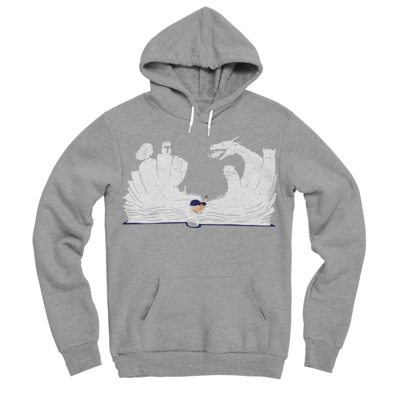 Words create worlds Men's Pullover Hoody by Arkady's print shop