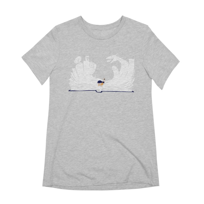 Words create worlds Women's Extra Soft T-Shirt by Arkady's print shop