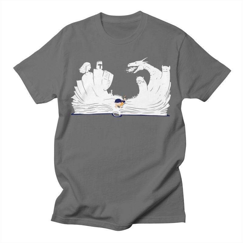 Words create worlds Men's T-Shirt by Arkady's print shop