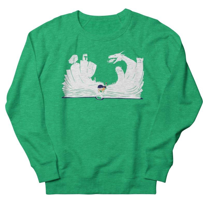 Words create worlds Men's Sweatshirt by Arkady's print shop