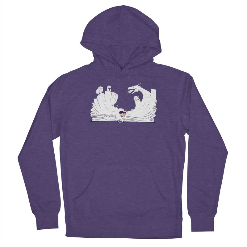 Words create worlds Women's French Terry Pullover Hoody by Arkady's print shop